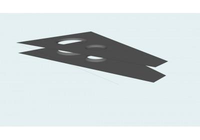 a-arm plate